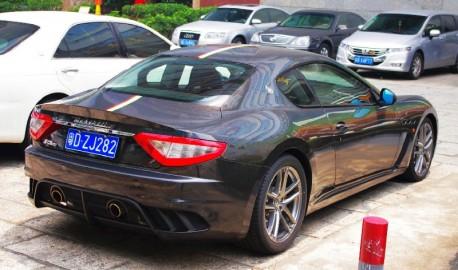 Maserati Granturismo MC with Glitter in China