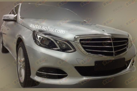 Spy Shots: Mercedes-Benz E400L Hybrid testing in China