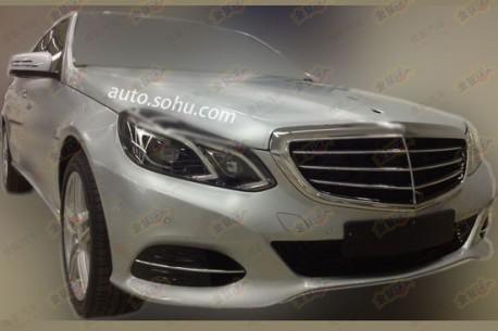 Spy Shots: Mercedes-Benz E400L Hybrid testing in China