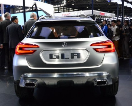 Mercedes-Benz GLA SUV concept debuts at the Shanghai Auto Show