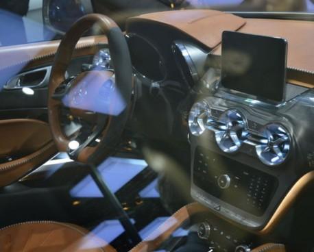 Mercedes-Benz GLA SUV concept debuts at the Shanghai Auto Show