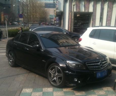 mercedes-c63-license-china-2