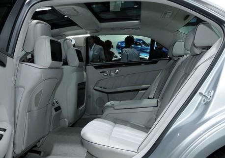 New Mercedes E Class L hits the Shanghai Auto Show