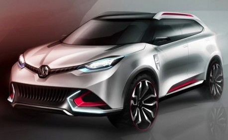 More details on the MG CS SUV