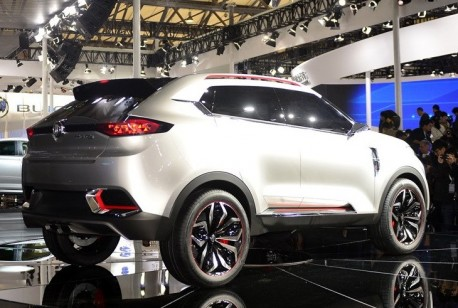 MG CS concept debuts at the Shanghai Auto Show