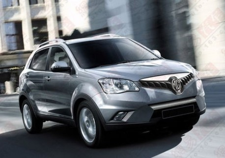 Rendered Speculation: MG SUV for the Chinese car market