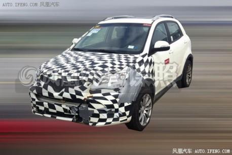 Spy Shots: MG SUV seen testing in China