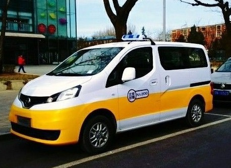 Nissan to launch NV200 taxi in China (?)
