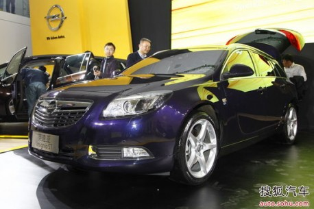 Opel Insignia Sports Tourer hits the Chinese auto market