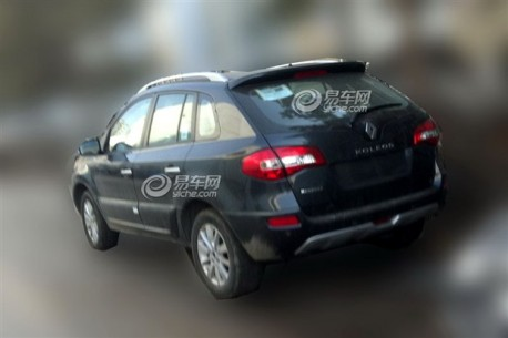 Spy Shots: facelifted Renault Koleos testing in China