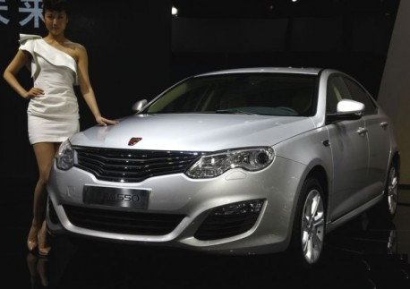 Facelifted Roewe 550 launched on the Shanghai Auto Show