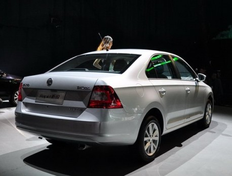 Skoda Rapid launched on the Chinese car market