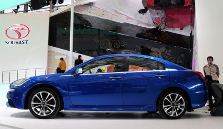 SouEast V7 concept arrives at the Shanghai Auto Show