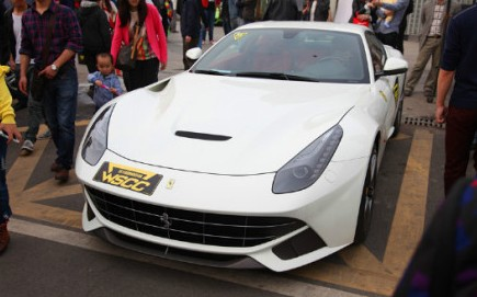 Wuhan Super Car Club meets in China, with some Metal