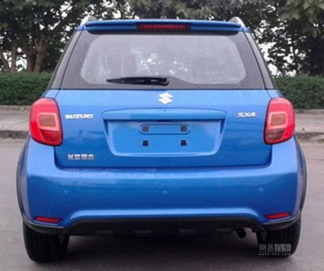 Spy Shots: facelifted Suzuki SX4 is getting Ready for the China car market