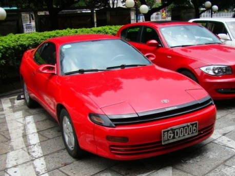 Spotted in China: T180 Toyota Celica Liftback