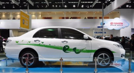 Toyota launches the Ranz brand at the Shanghai Auto Show