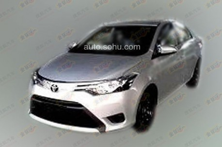 Spy Shots: new Toyota Vios seen testing in China