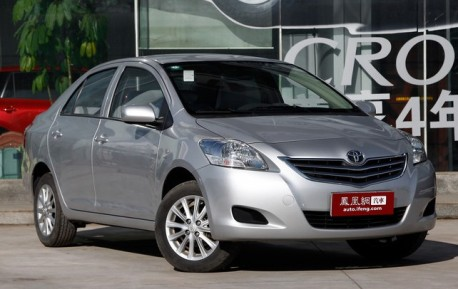 New China-made Toyota Vios will debut on the 2013 Shanghai Auto Show