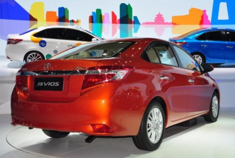 New Toyota Vios debuts on the Shanghai Auto Show