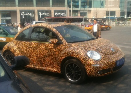 Volkswagen Beetle is a Leopard in China
