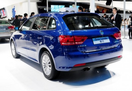 Volkswagen Gran Lavida debuts on the Shanghai Auto Show