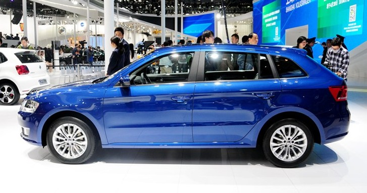2014 - [Skoda] Rapid Spaceback Volkswagen-gran-lavida-china-2