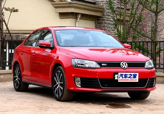 Volkswagen Sagitar Gli Hits The Chinese Car Market