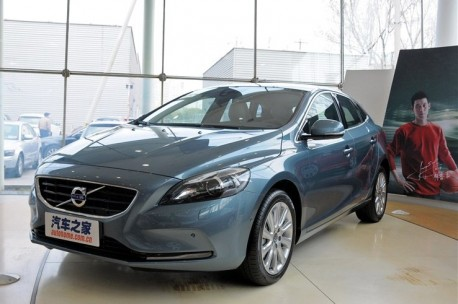 Volvo V40 will hit the Chinese car market on April 16