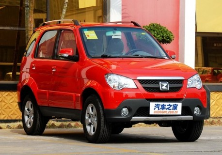 Zotye T200 is out in China