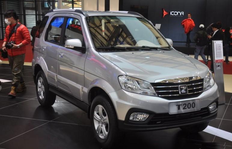 Zotye T200 hits the China car market