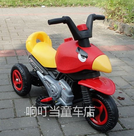 Angry Birds children's motorcycle from China