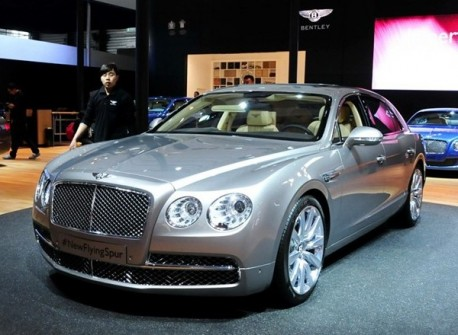 New Bentley Continental Flying Spur hits the Chinese car market
