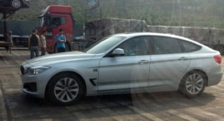 Spy Shots: BMW 3 Series GT is Naked in China