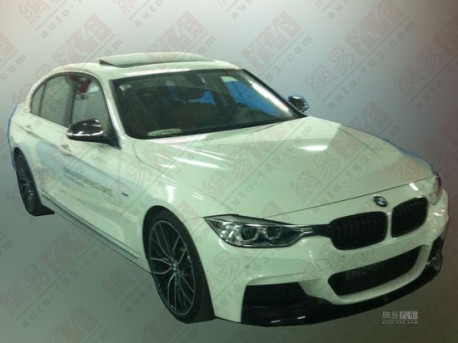 Spy Shots: M Performance Package for the BMW 3Li in China