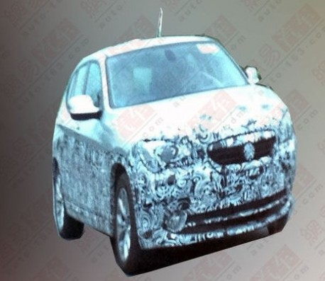 Spy Shots: mysterious BMW X1 testing in China