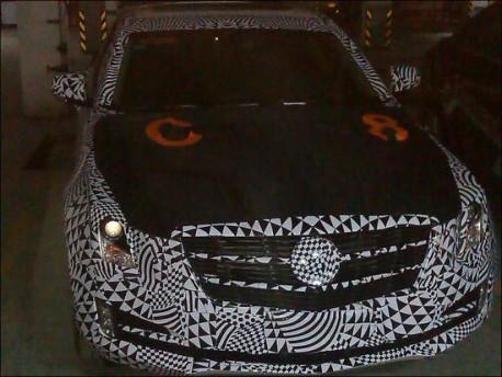 Spy Shots: Cadillac ATS testing in China