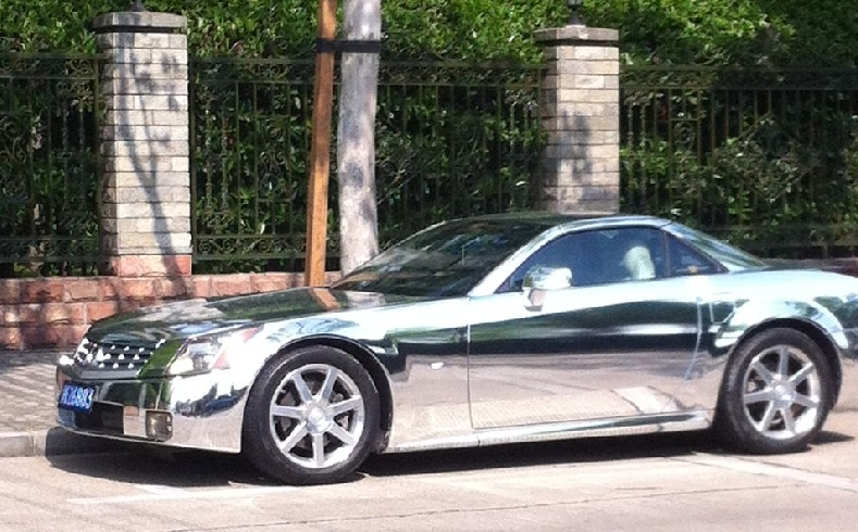 Cadillac XLR is Bling in China - CarNewsChina.com