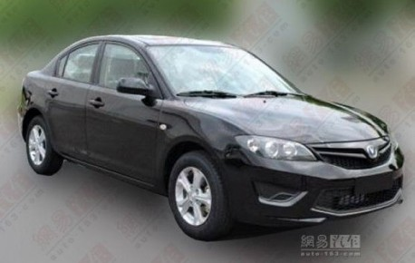 Spy Shots: Chang'an Cinturx is an old Mazda 3 in China