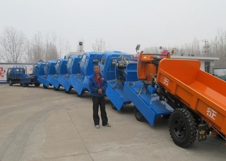 Police in China stops Crazy Tricycle Transport