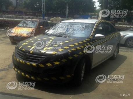 Spy Shots: Dongfeng-Liuzhou sedan testing in China