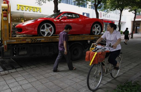 Ferrari looking for more Sales in China