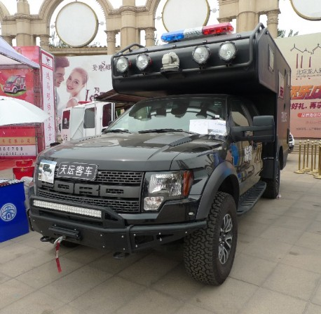 Ford Raptor police car from China