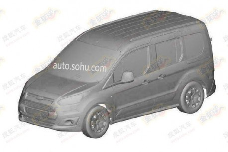 Patent Applied: Ford Transit Connect Wagon will be made in China