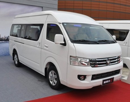 Foton View S MPV launched on the Chinese car market