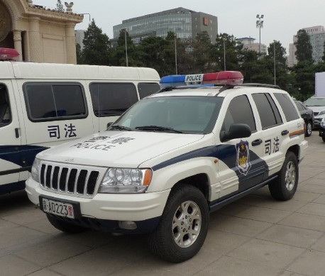 Spotted in China: Beijing-Jeep Grand Cherokee police car
