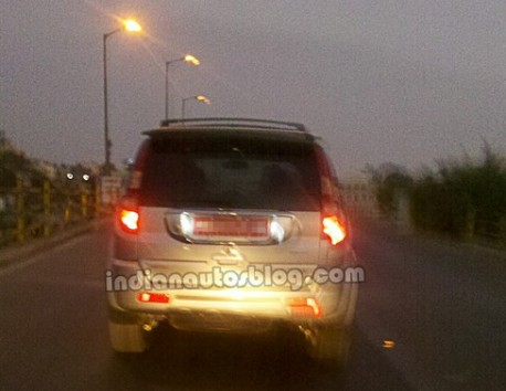 Spy Shots: Great Wall Haval H3 testing in India