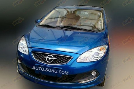 Spy Shots: facelift for the Haima 2 in China