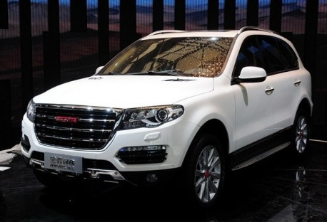 More details on the new Haval H8