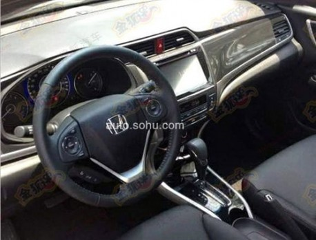 Spy Shots: Honda Crider shows its dashboard in China